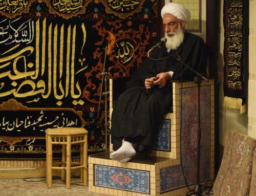 برگزاری مراسم عزاداری در حسینیه خیریه شعف