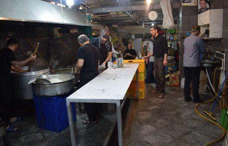 پخت غذا برای نیازمندان