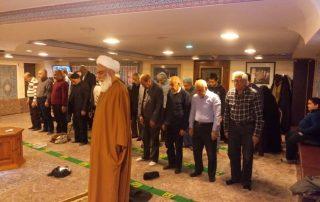 برگزاری مراسم شب اول رجب در حسینیه خیریه شعف