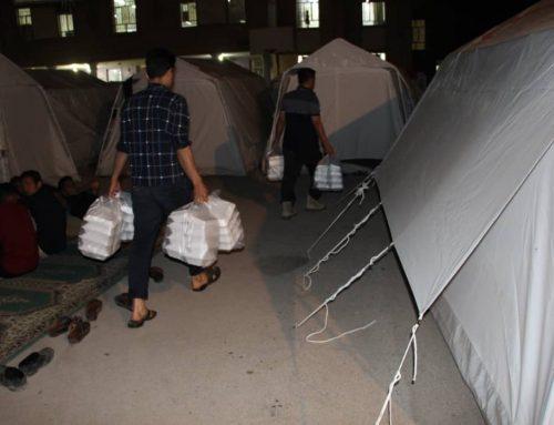 کمپین کمک به سیل زدگان کشور (۲۵۰۰ پرس غذا)