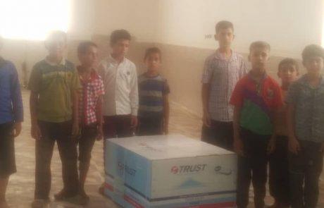 خرید کولر برای سیل زدگان خوزستان