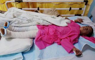 کمک به بیماران نیازمند خیریه شعف