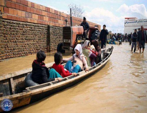 کمک به مناطق سیل زده