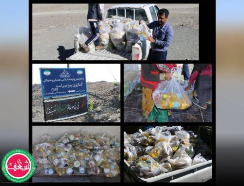 گزارش ویدیوئی سفیران شعف از انتقال حمایتهای مردمی به مناطق سیل زده ۹ بهمن ۱۳۹۸