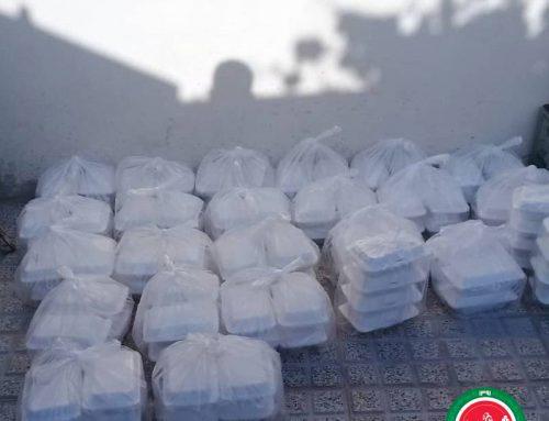 پخت و توزیع 230 پرس غذا در منطقه نظرآباد